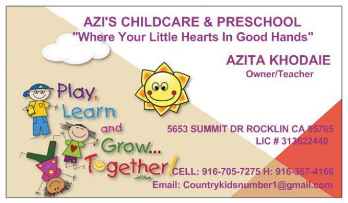 Azi's Daycare & Preschool