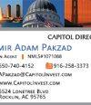 Capitol Direct Lending , Amir Pakzad