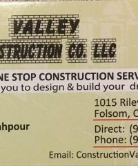 Valley Construction Co