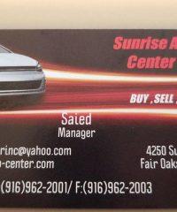 Sunrise Auto Center Inc.