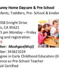 Sunny Home Daycare & Pre-School